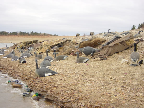Lay Down Blinds >> Late Season High Plains Freelance Duck Hunting - Dec Mallard Hunt