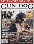 Julson's Bermuda on the cover of Gun Dog magazine